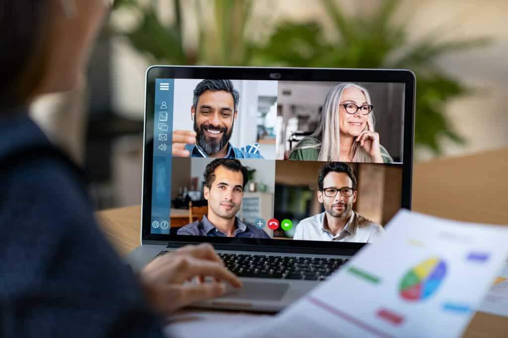 Smart working and video conference